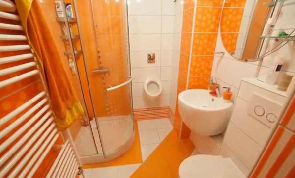 апельсиновая ванная