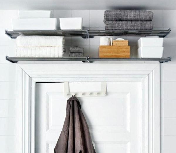 полотенца на двери
