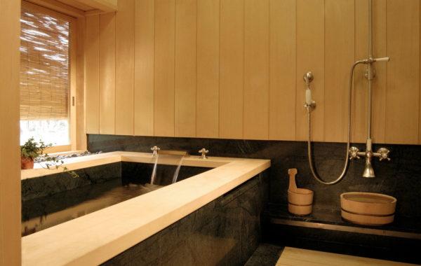 сантехника в японской ванной