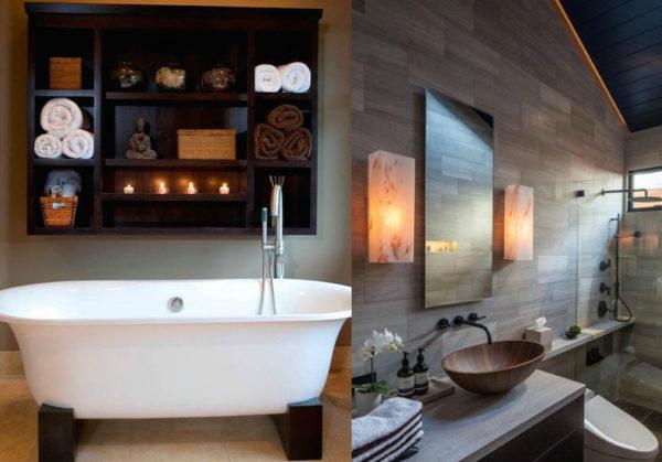 аксессуары в ванной японии