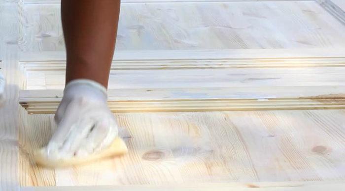 подготовка древесины к покраске