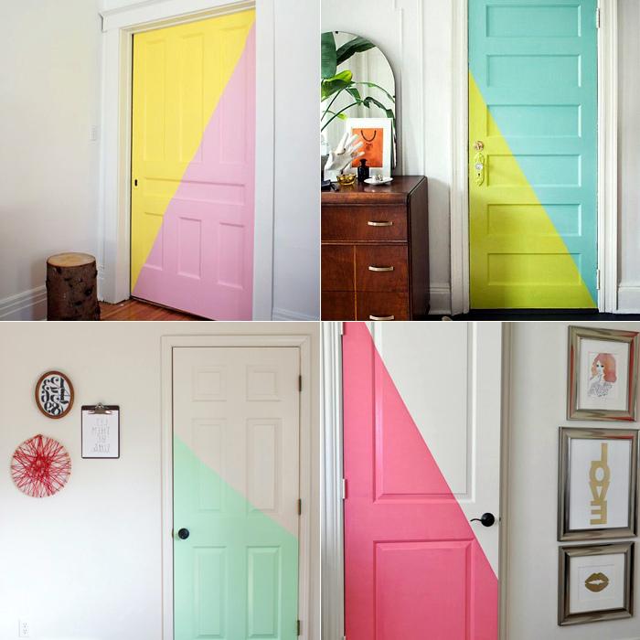 какой краской покрасить дверь