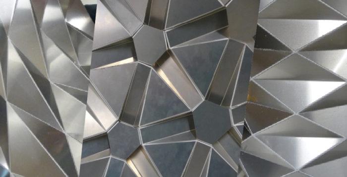 3D панели алюминиевые