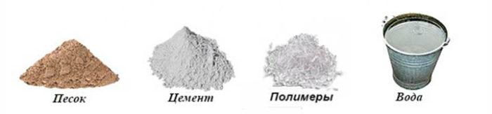 цементная стяжка состав