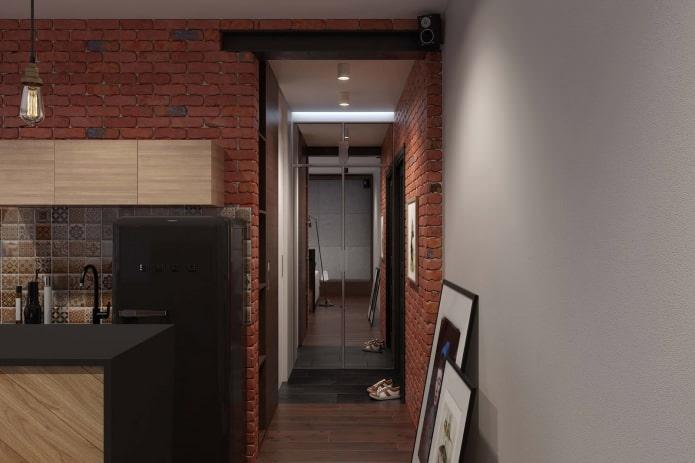 квартира в стиле лофт фото 3