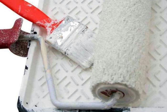 инструменты для покраски потолка