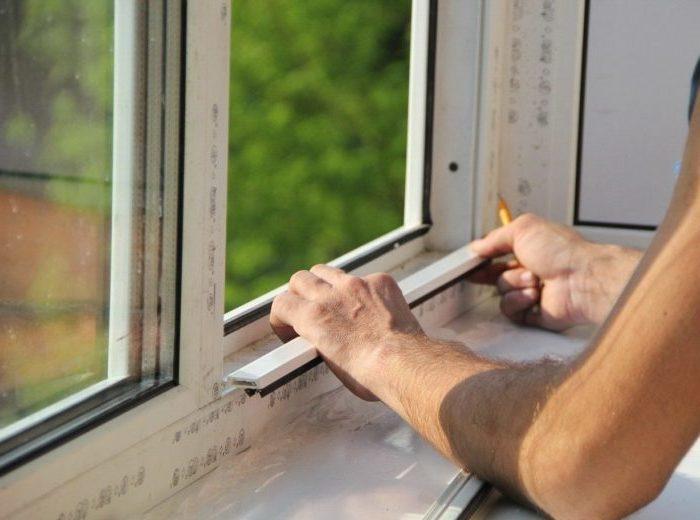 Контроль монтажа окна