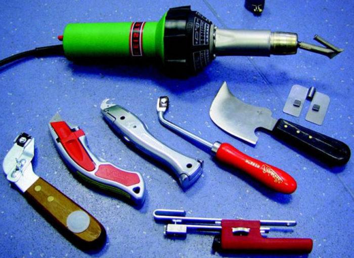 холодная сварка инструменты