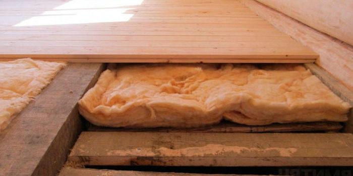 Утепление деревянных полов