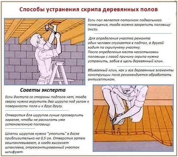 Укрепляем пол своими руками