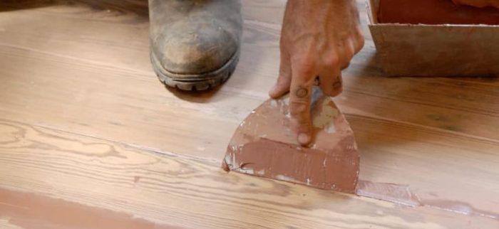 Выбор герметика для деревянного пола, производители