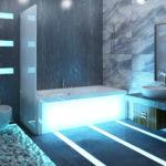 Ремонт ванной комнаты в современном стиле