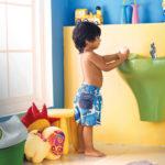 Дизайн детской ванной