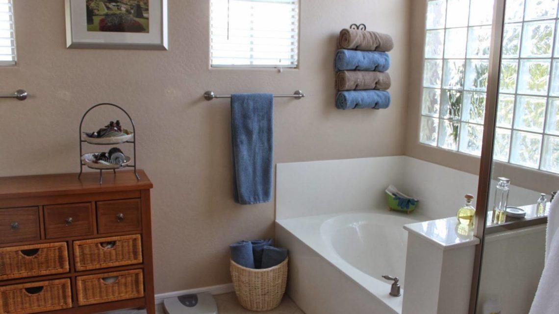 Как хранить полотенца в ванной