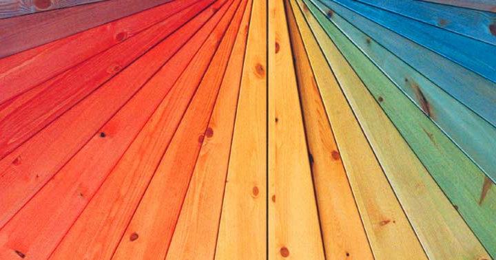 Краска для дерева: чем покрасить