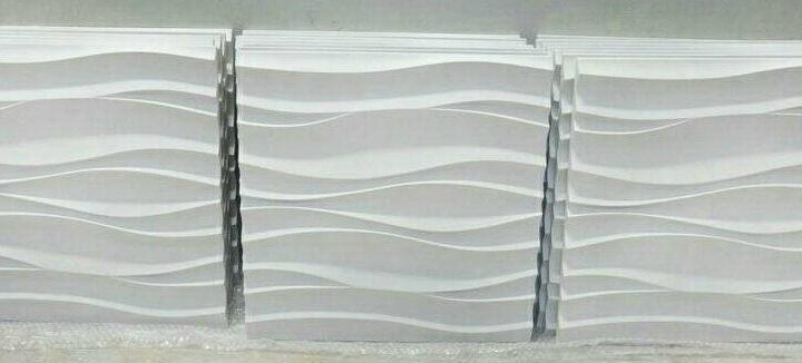 Заделка швов на 3D панелях