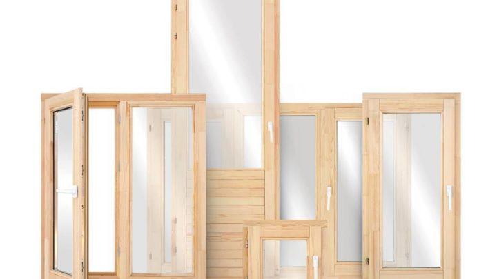 Деревянные окна: строение и установка