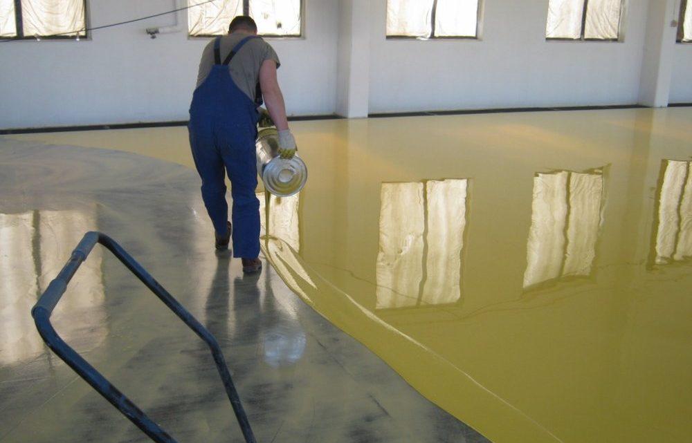 Как залить наливной пол: инструкция