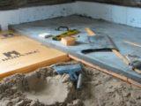 Утеплить бетонный пол в доме
