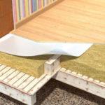 Утепление пола в деревянном доме: способы